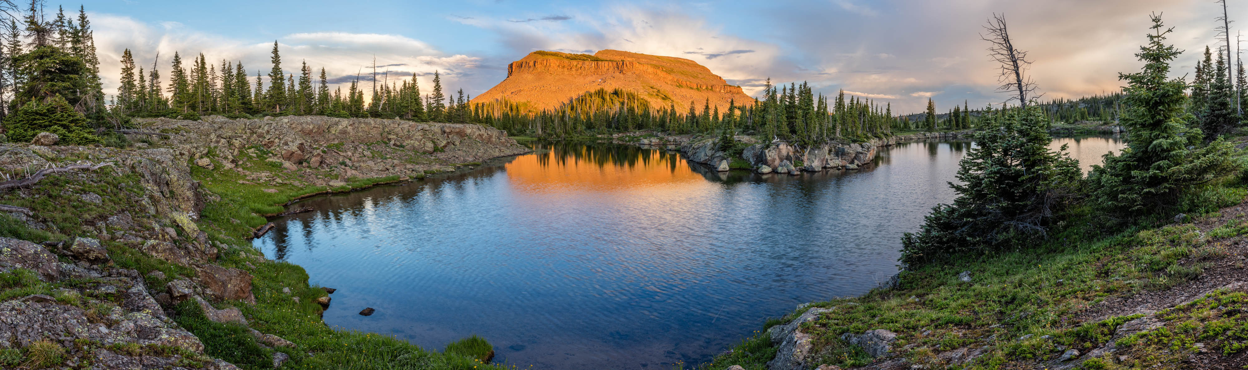 photo - Flat Tops Wilderness Area by John Fielder